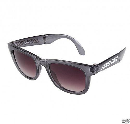 okuliare slnečné SANTA CRUZ - Trans - SCASUN-011 CLEAR BLACK