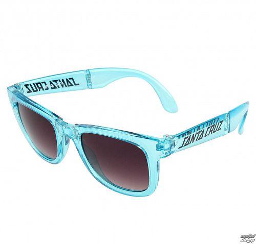 okuliare slnečné SANTA CRUZ - Trans - SCASUN-011 CLEAR BLUE