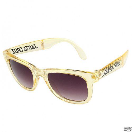 okuliare slnečné SANTA CRUZ - Trans - SCASUN-011 CLEAR YELLOW