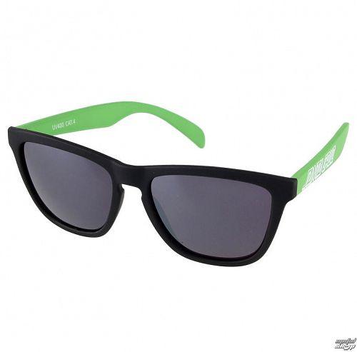 okuliare slnečné SANTA CRUZ - Volley - SCASUN-012 BLACK / LIME