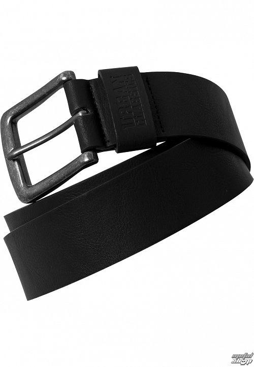opasok URBAN CLASSICS - Leather lmitation - TB1288-black