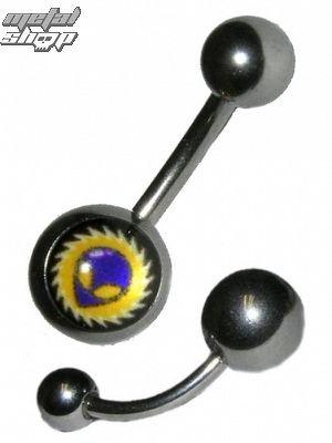 piercingový šperk - Alien 2 - BNJP - 011 - BK - MABR