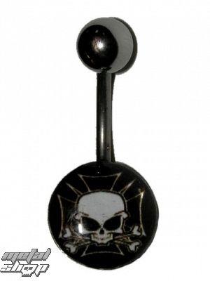 piercingový šperk Lebka 043  - MABR