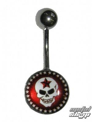 piercingový šperk Lebka - 1PCS - L 090 - MABR