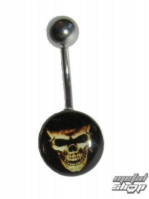 piercingový šperk Lebka - 1PCS - L 094 - MABR