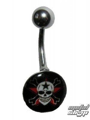 piercingový šperk Lebka - 1PCS - L 096 - MABR