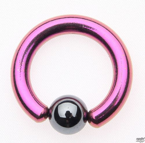 piercingový šperk - Metallic Purple - 6mm - IV153