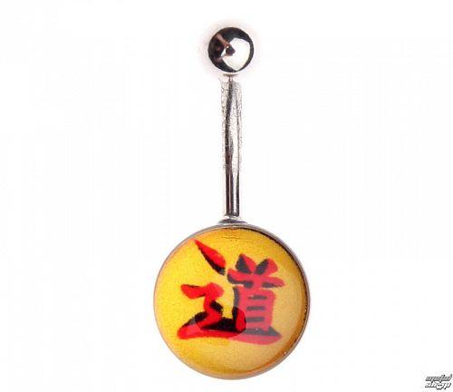 piercingový šperk - Yellow / Red - IV022
