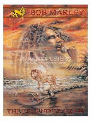 plagát - Bob Marley (Legend Lives On) - PP30664 - Pyramid Posters