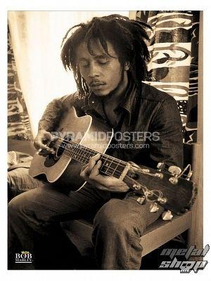 plagát - Bob Marley (Sepia) - PP31818 - Pyramid Posters