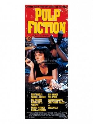 plagát - Pulp Fiction (Cover) - CPP20108 - Pyramid Posters
