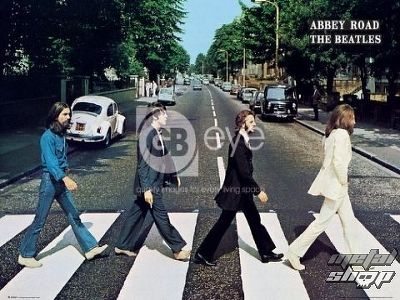 plagát - The Beatles - Abbey Road - LP0597 - GB posters