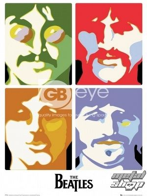 plagát - The Beatles - Sea of Science - LP1266 - GB posters