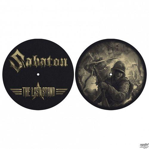 podložka na gramofón (set 2ks) SABATON - THE LAST STAND - RAZAMATAZ - SM002