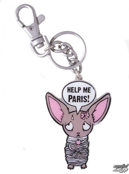 prívesok EMILY THE STRANGE - Emily (E2092320) Paris Who keyring