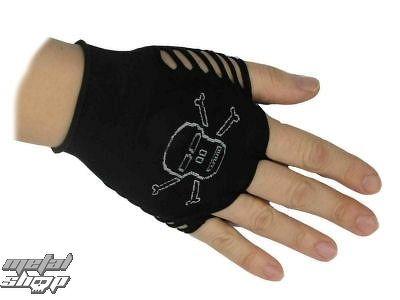 rukavice dámske bezprsté nylonové Lebka 1 - 59040-003