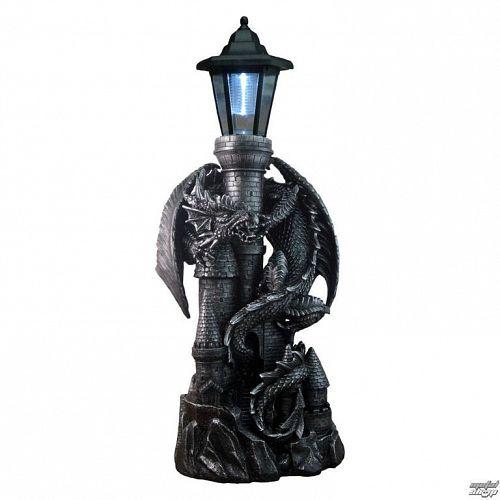 solárny lampa Dragon Castle with Lantern - NENOW - U1941F6