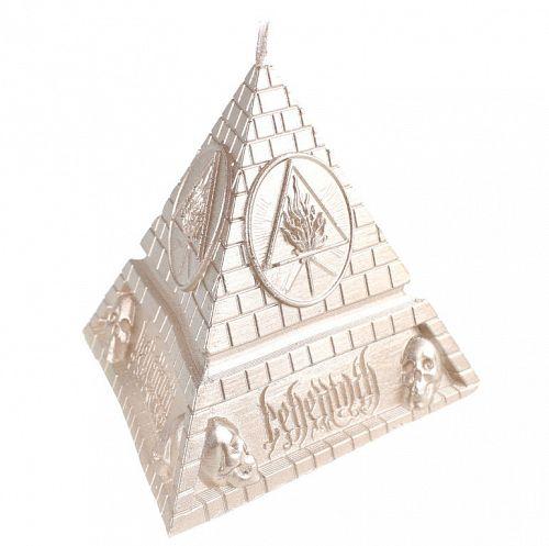 sviečka BEHEMOTH - UNHOLY TRINITY PYRAMID - BRASS - PLASTIC HEAD - PHCAND018