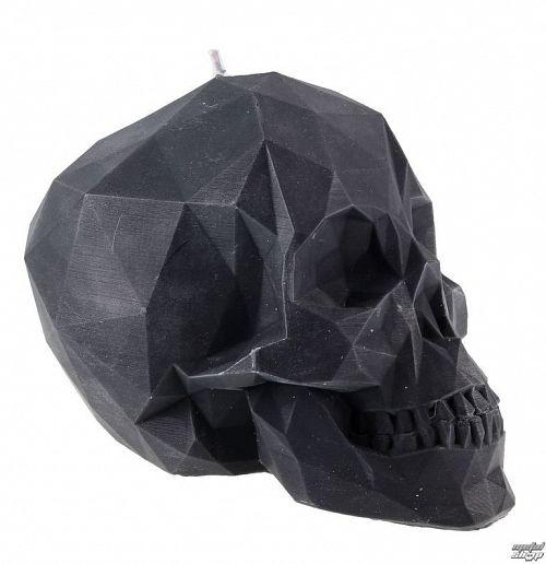 sviečka Skull - Black - YO007