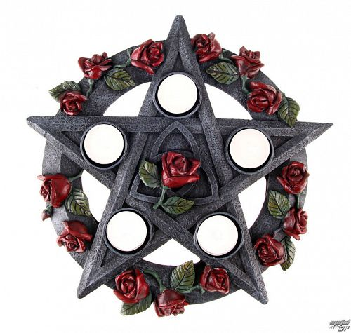 svietnik Pentagram Rose - NOW5185