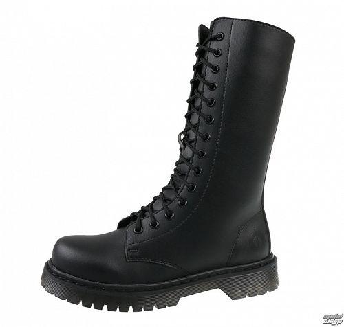 topánky 14 dierkové ALTERCORE - Black - Vegan - 652