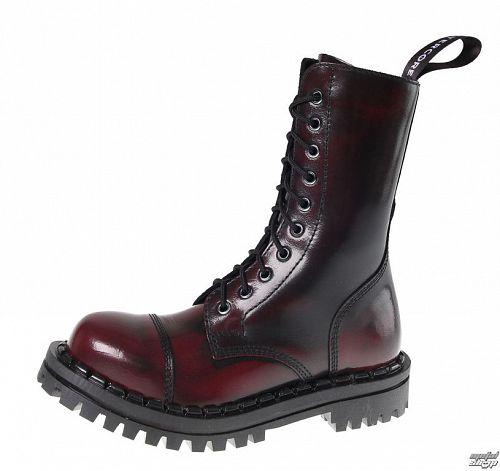 topánky ALTER CORE - 10dírkové - Burgundy Rub-Off 351