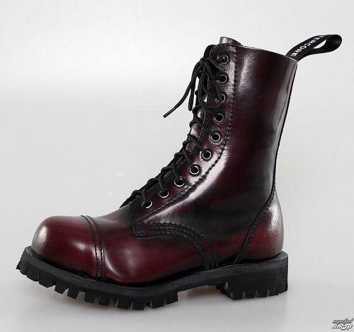 topánky ALTERCORE - 10dírkové - Burgundy Rub-Off - 551