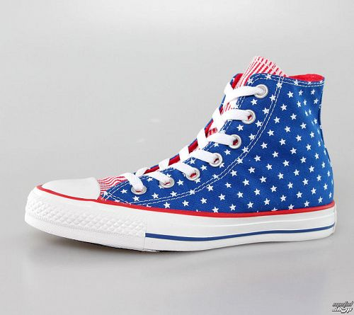 topánky CONVERSE - Chuck Taylor All Star - Blue/White/Red - C144826F