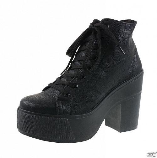topánky dámske ALTERCORE - Roca - PU Black - ALT015