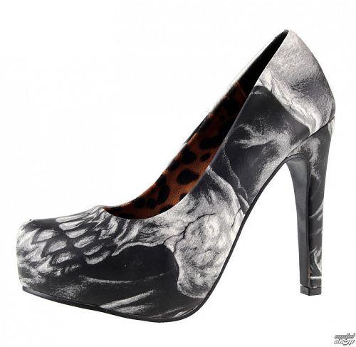 topánky dámske (črievice) IRON FIST - Dead On Platform - IFW006004-GREY