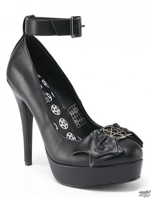 topánky dámske (črievice) KILLSTAR - Evilyn Heel - Black - K-FTW-F-2310