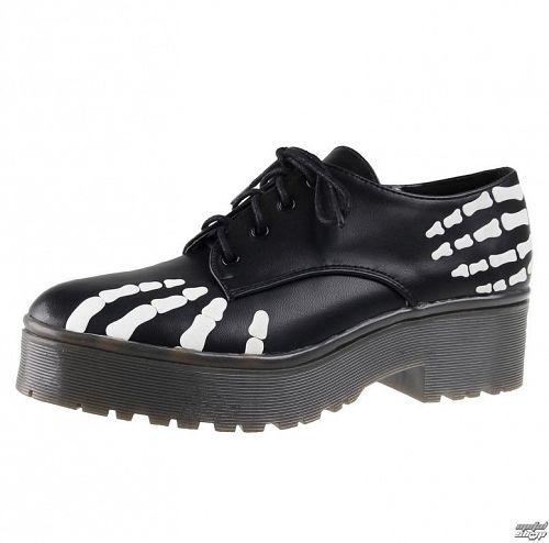 topánky dámske IRON FIST - Grave Robber Derby - IFW005102-Black