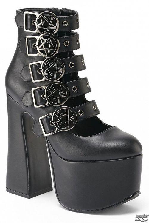 topánky dámske KILLSTAR - Burial - Black - K-FTW-F-2306
