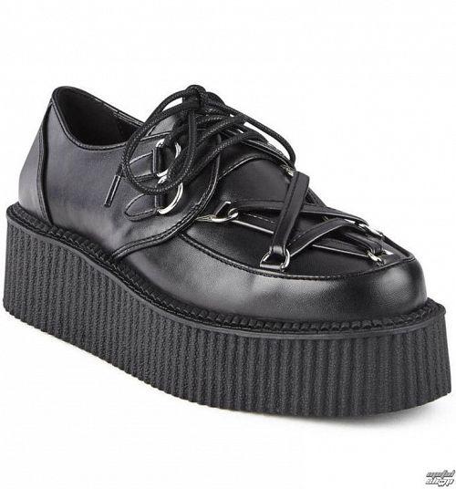topánky dámske KILLSTAR - HEXELLENT CREEPERS - BLACK - K-FTW-F-2883