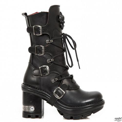 topánky dámske NEW ROCK - ITALI NEGRO NEOTYRE - M.NEOTYRE05-S1