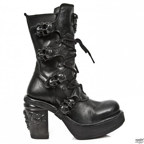 topánky dámske NEW ROCK - ITALI NOMADA PLT. NKR T.SKUL L - M.8366-S8