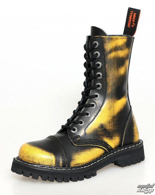 topánky KMM 10dírkové - Yellow - 100