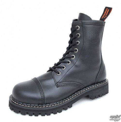 topánky KMM - 8dírkové - Black - 080