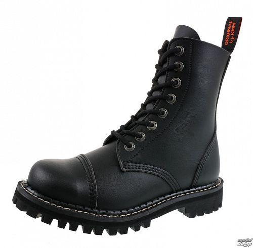 topánky KMM 8dírkové - Vegan - Black - 080