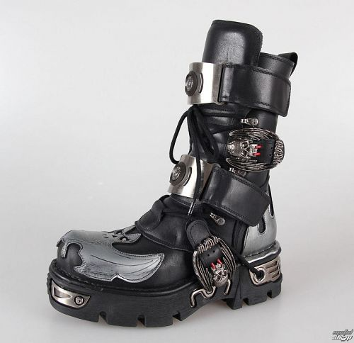 topánky NEW ROCK - 195-S2 - Itali Negro