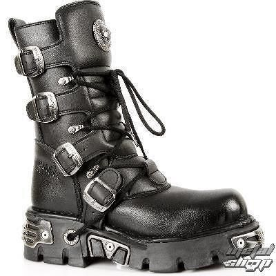 topánky NEW ROCK - 373-S7 - Vegan Negro