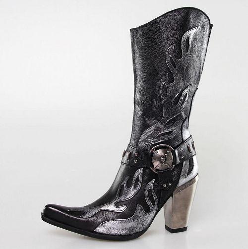 topánky NEW ROCK - 7901-S2 - Bufalo Negro