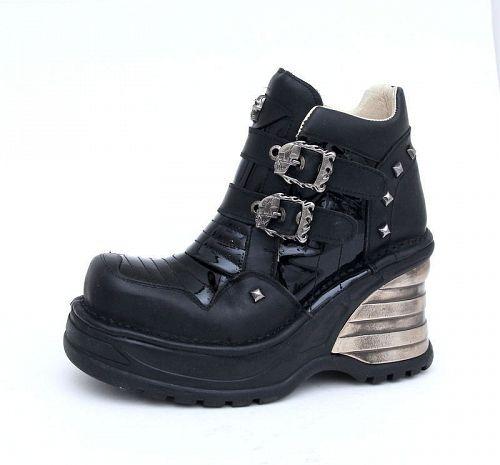 topánky NEW ROCK - 8330-S1 - Itali Negro