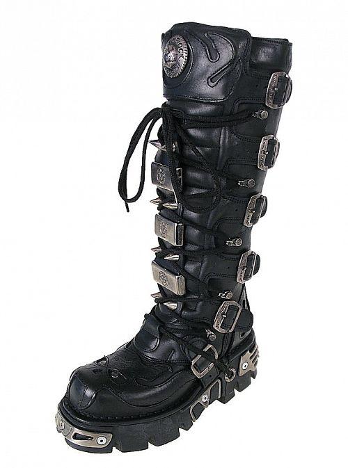 topánky NEW ROCK - High Vampire Boot (161-S1) Black - N-8-27-700-00
