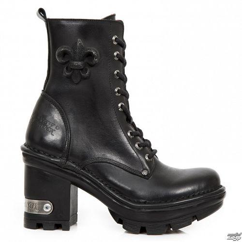 topánky NEW ROCK - ITALI NEGRO NEOTYRE - M.NEOTYRE07-S1