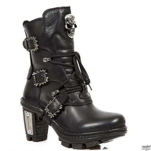 topánky NEW ROCK - Itali, Nomada, Neotrail Negro - M.NEOTR066