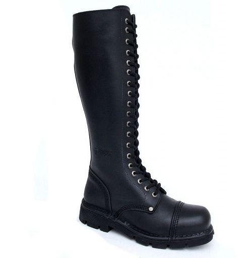 topánky NEW ROCK - NEWMILI19-S1 - Timber Negro