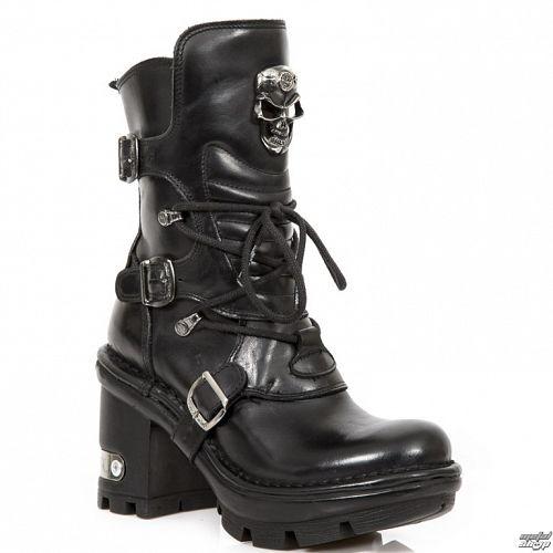topánky NEW ROCK - Nomada Negro - Neotyre Negro - M.Neotyre1