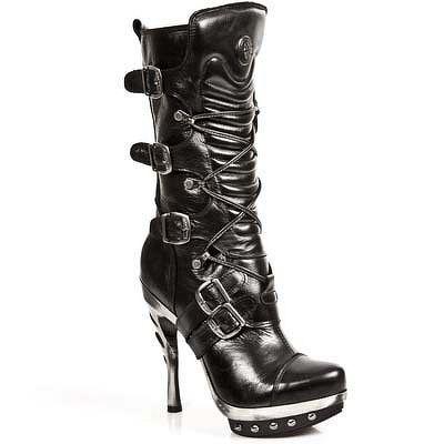 topánky NEW ROCK - PUNK001-C1 - Nomada Negro