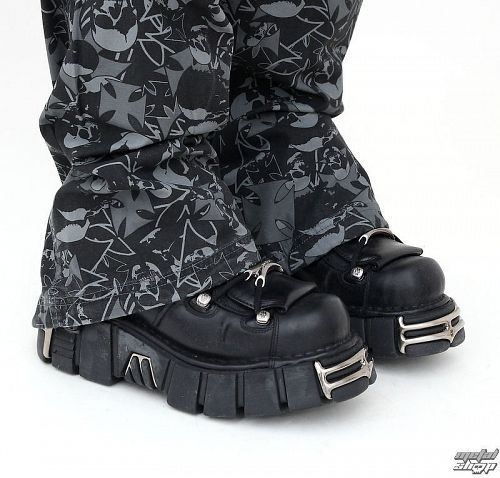 topánky NEW ROCK - String Shoes (106-S1) Black - N-8-52-700-00